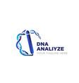 gen analyze logo designs modern vector image vector image