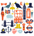 london landmarks set vector image vector image