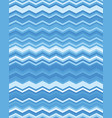 seamless zigzag pattern vector image vector image