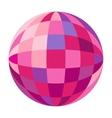 Disco balls set vector image