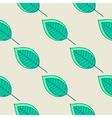 Green leaves nature seamless pattern vector image