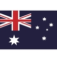 australian flag country symbol vector image