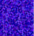 Dark blue square pattern background design vector image vector image