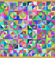 geometric abstract rectangle background vector image vector image