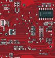 motherboard pattern vector image vector image
