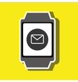 technology applications smartwatch vector image