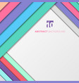 template abstract geometric pastel color with vector image