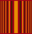 vertical orange and red stripes print vector image vector image