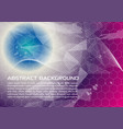 abstract background in violet and blue color vector image vector image