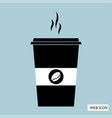 coffee icon eps10 vector image vector image