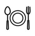 Food Dinner vector image