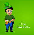 ireland festival st patricks day vector image