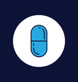 pills icon sign symbol vector image vector image