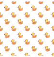 rubber duck toy pattern seamless vector image
