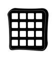 waffles icon image vector image vector image