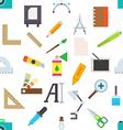 Graphic designer equipment pattern stickers vector image