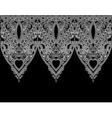 Ornamental seamless stripe decorative element vector image