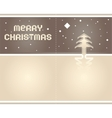 2012 origami postcard merry christmas - paper tape vector image vector image