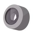 Camera lens icon cartoon style vector image vector image