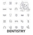 dentistry dentist dental dental care dentist vector image vector image