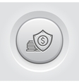 Money Protection Icon vector image vector image