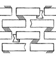 Ribbons seamless pattern vector image vector image