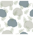 scandinavian nature pattern design vector image