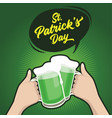 st patrick day happy friends celebrating vector image