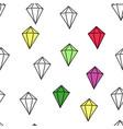 abstract pattern diamond vector image