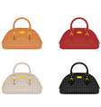 designer female bags vector image vector image