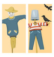 different dolls toy character game dress and farm vector image vector image