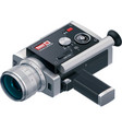 Retro camcorder icon vector | Price: 5 Credits (USD $5)