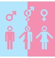 Transgender icon vector image vector image