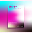 abstract background with colorful gradient texture vector image