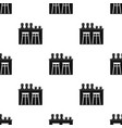 bar icon in black style isolated on white vector image vector image
