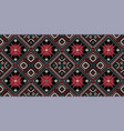 bohemian fashionable seamless ornament in ethnic vector image