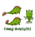 Cartoon Monsters Set vector image