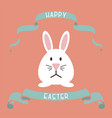 happy easter background - creative design vector image