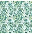 ornate floral vintage seamless pattern vector image vector image