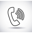 Phone Silhouette icon design graphic vector image