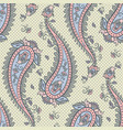Seamless pattern paisley ornamental background