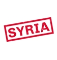 Syria rubber stamp vector image vector image