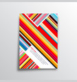 abstract background with colorful lines for the vector image vector image