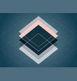 abstract scandinavia style design vector image vector image