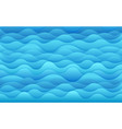 blue sea tropical background vector image vector image