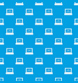 cinema pattern seamless blue vector image vector image