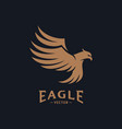 eagle logo design eagle logo design concepts vector image vector image