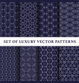 eastern style pattern pack vector image vector image