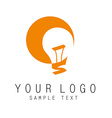 light logo vector image vector image