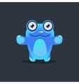 Blue Alien Wants A Hug vector image vector image